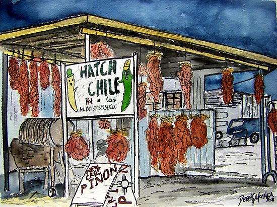 Hatch Chile by Derek McCrea