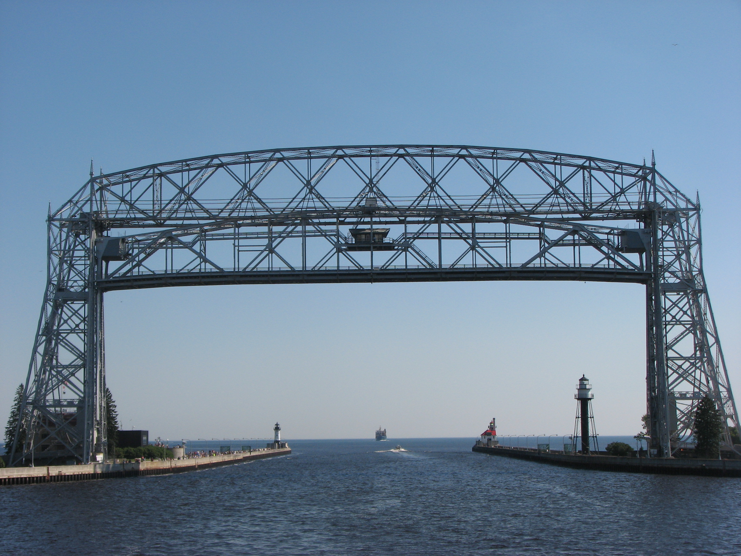 Duluth S Aerial Lift Bridge American Countryside